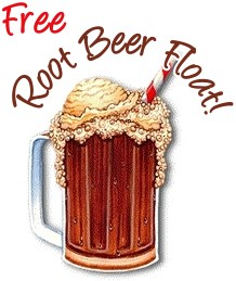 Root Beer Float Sign for Pinterest