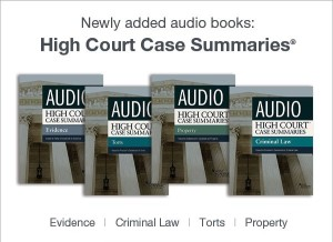 High COurt case summaries