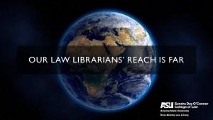 Our law librarians' reach is Far