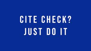 Cite Check